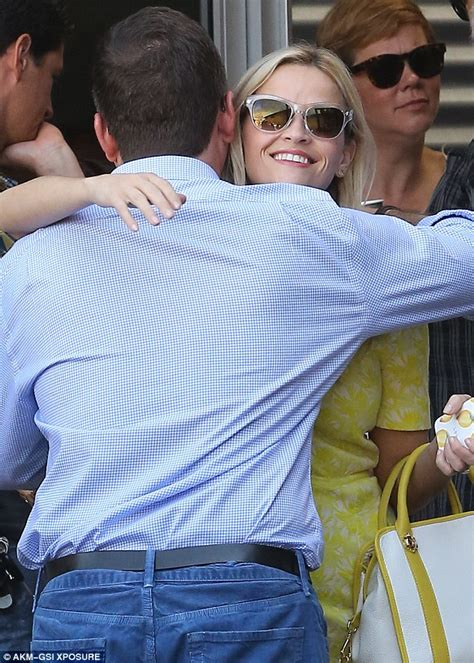 Reese Witherspoon Goes For An Egghunt by Reese Witherspoon Shows Pins In Pretty
