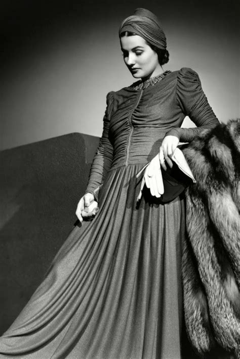1940s Glam Made Modern Everyday by 1940s Fashion And Style Trends In 40 Stunning Pictures