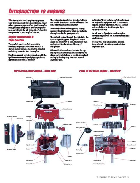Briggs And Stratton Small Engine Care And Repair Generator