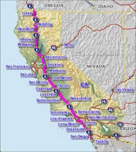 california highway map free california interstate highway map