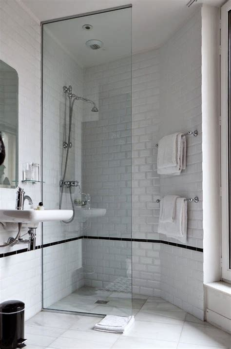 bathroom tiles black and white ideas 36 black and white shower tile ideas and pictures