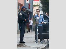 Colin Farrell gets a parking ticket with girlfriend in LA Justin Timberlake