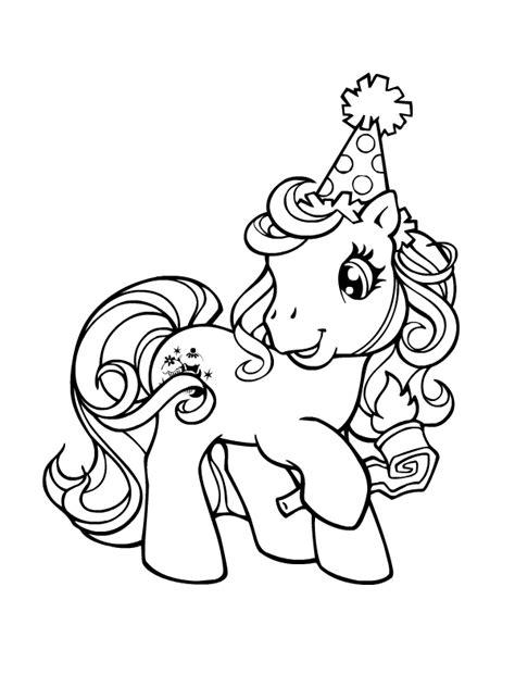 Petit Poney #120 (Dessins Animés) – Coloriages à imprimer
