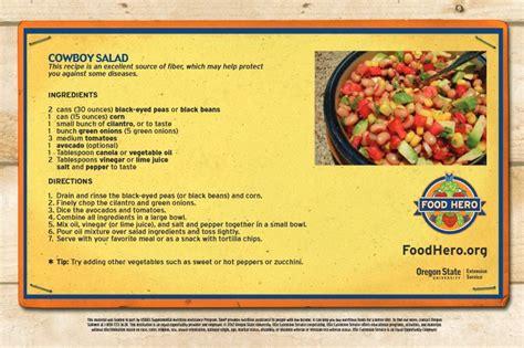 Recipe Cookbooks cookbook recipe cards and postcards food hero