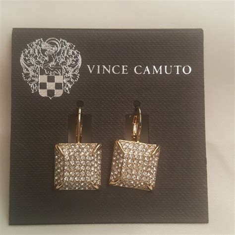 Vince Camuto Gold Square Toss 26 Vince Camuto Jewelry Vince Camuto Gold