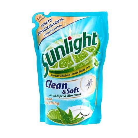 Fokus Clean Pembersih Piring Dan Peralatan Dapur jual sunlight clean and soft refill sabun cuci piring 800