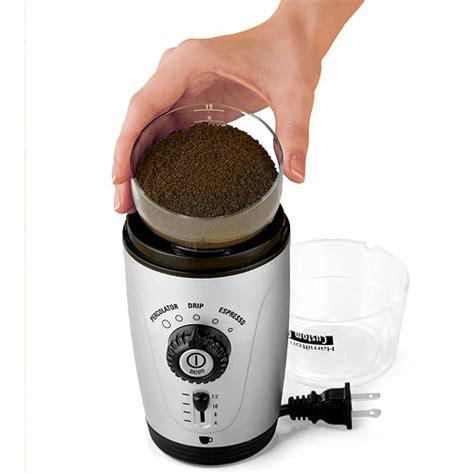 Hamilton Beach Custom Coffee Grinder, 80365   Walmart.com