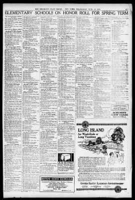 The Brooklyn Daily Eagle from Brooklyn, New York on June