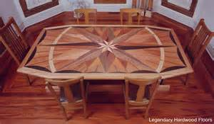 Dining Table On Wood Floor Tables Legendary Hardwood Floors Llc