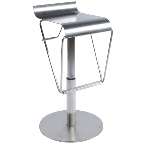 brushed metal bar stools kendall bar stool brushed stainless steel frame and base
