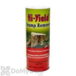 hi yield stump remover