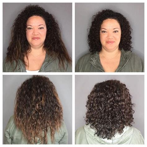 haircut for frizzy damaged hair 15 curly hair transformations you have to see to believe