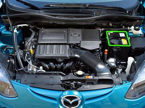 mazda car locator mazda 2 car battery location