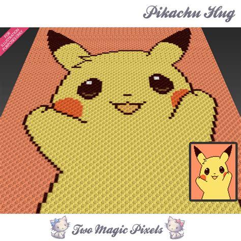 pattern magic 3 pdf free download pikachu hug crochet blanket pattern twomagicpixels