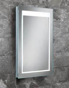 Lit Bathroom Mirror Hib Liberty Steam Free Led Back Lit Mirror 400 X 600mm 77411000
