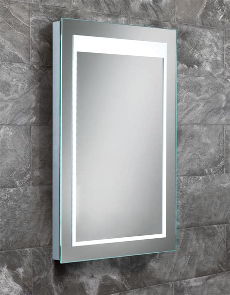 Bathroom Mirrors Qs Hib Liberty Steam Free Led Back Lit Mirror 400 X 600mm