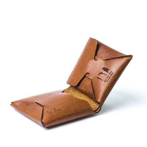 Origami Wallet - personalised origami leather wallet with coin purse by