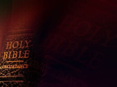 Ppt Background Red Bible Bible Powerpoint Templates
