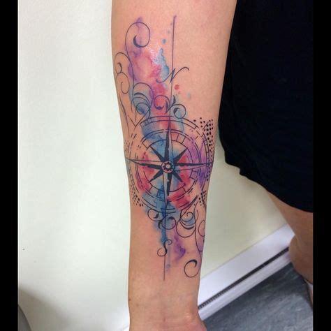 xoxo tattoo designs watercolor compass by leni xoxo abstracttattoo