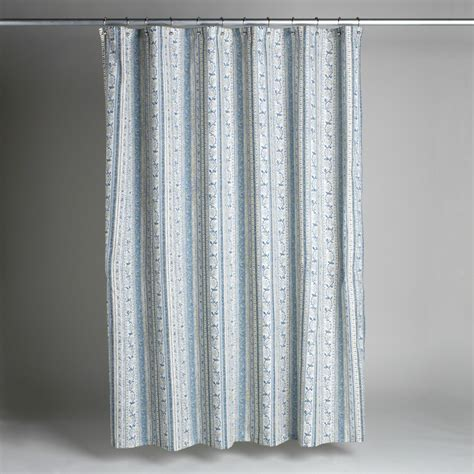 country bath shower curtain country living monticello shower curtain home bed