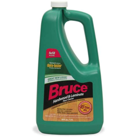 shop bruce 64 fl oz hardwood floor cleaner at lowes