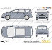 The Blueprintscom  Vector Drawing Peugeot 5008