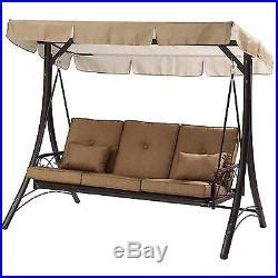 3 person porch swing porch swing with canopy cover convertible hammock patio