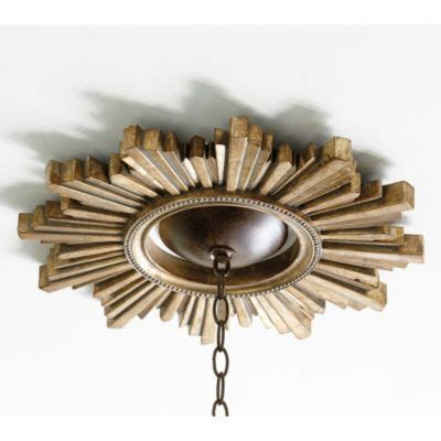 sunburst ceiling medallion this would be beautiful and