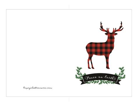 Holiday Gift Card Template - free printable holiday cards mountain modern life