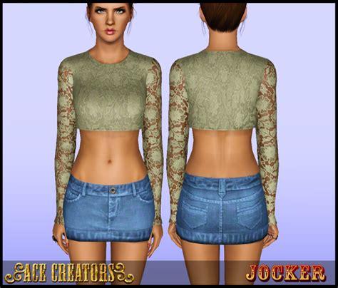 my sims 3 blog lace my sims 3 blog lace shirt by jocker