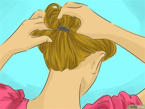 Karet Spiral Untuk Menata Rambut 3 cara untuk menata rambut sebahu wikihow