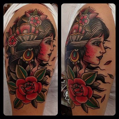 american traditional gypsy tattoo best 25 traditional tattoos ideas on