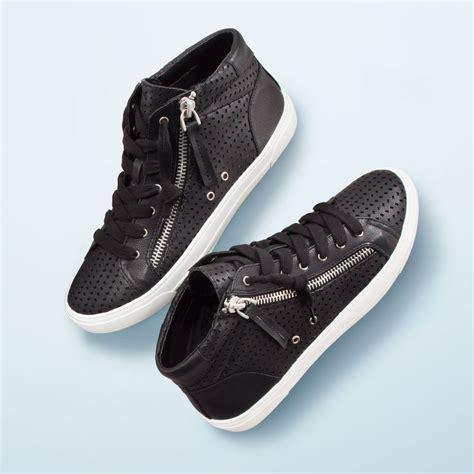 womens black high top sneakers low top air 1