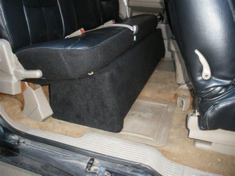 seat subwoofer box 2015 silverado chevy silverado extended cab sub box gmc extended