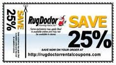 Rug Dr Rental Coupon Rug Doctor Rental Coupons On Pinterest Coupon And Watches