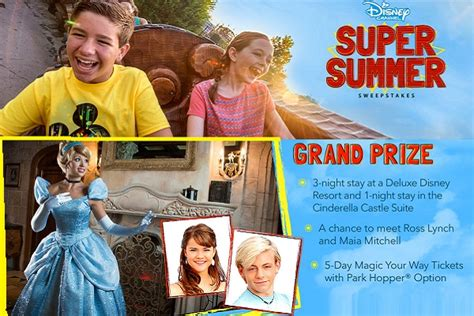 Disney Channel Summer Sweepstakes - disney super summer sweepstakes sweepstakesbible