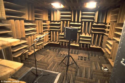 world s quietest room the world s quietest place is a chamber at orfield laboratories daily mail