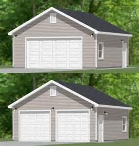 24x24 2 car garage 24x24g1 576 sq ft excellent