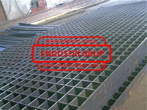 metal platform izgara endustri yapi