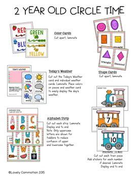 printable lesson plans for 2 year olds 2 year old circle time pack activities school and tot