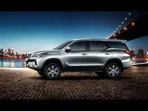 interior new fortuner 2018 all new fortuner 2018 interior and exterior youtube