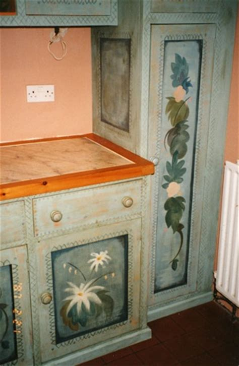 custom painted kitchen cabinets hand painted kitchen cabinets house pinterest