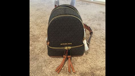 Tas Ransel Michael Kors Mk Rhea Mini Backpack Original michael kors rhea mini backpack