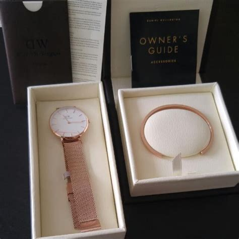 Dw Set Daniel Wellington promotional set daniel wellington dw