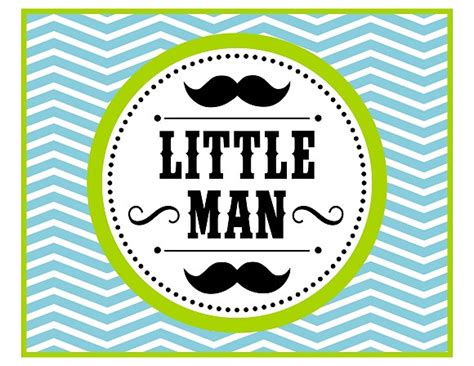 printable mustache birthday banner free little man mustache bash party printables from