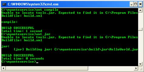pattern compile java performance the four steps to a running application using ant