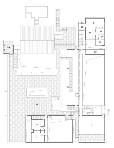 art studio floor plan gallery of zhou chunya art studio tm studio 11