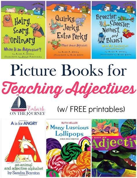 picture book lessons teaching adjectives with picture books