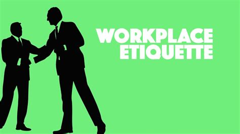 7 Work Etiquette Tips by Skill Up Workplace Etiquette