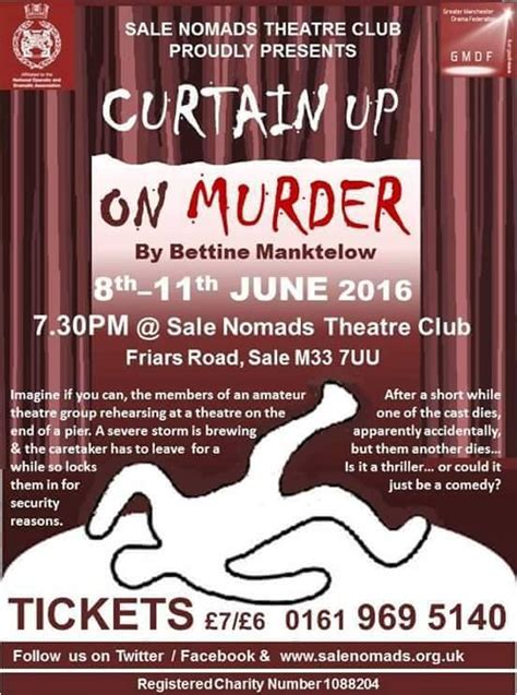 curtain up on murder north west end
